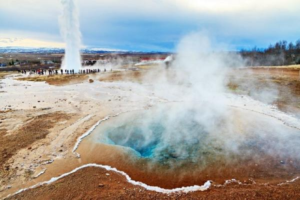 Iceland Golden Circle Tour w/ Fontana Thermal Baths