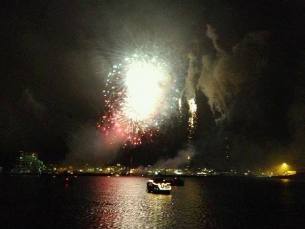 Iceland New Year's Eve Fireworks Cruise