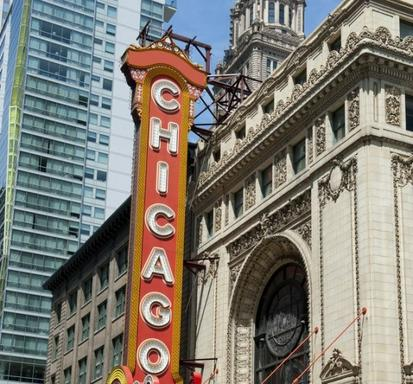 The Chicago Theatre Marquee Tour