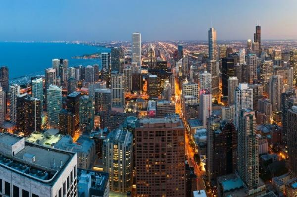 Chicago Twilight Helicopter Tour