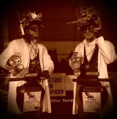Time Travel & Old Haunts Segway Tour