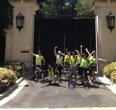 Hollywood Movie Stars' Homes Bike Tour