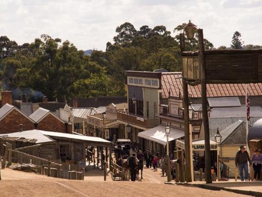 Sovereign Hill Gold Rush Tour