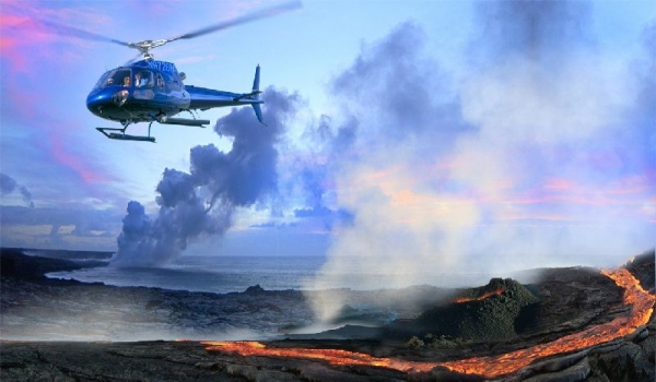 Big Island Volcano Adventure Tour From Oahu**Helicopter + Land Combo Tour**<br>** Roundtrip Flight Included**