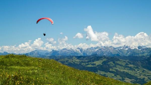 Swiss Alps Paragliding Trip from Interlaken