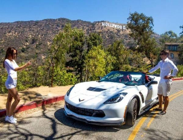 Hollywood Sign Sports Car Tour