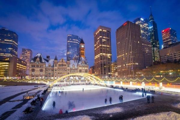 11-Day US East and Canada East Christmas and New Years Eve Vacation Package from New York