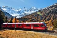 Bernina Express and Swiss Alps Day Trip from Milan**Passport Required!**