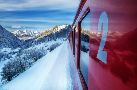 Bernina Express and Swiss Alps Day Trip from Milan