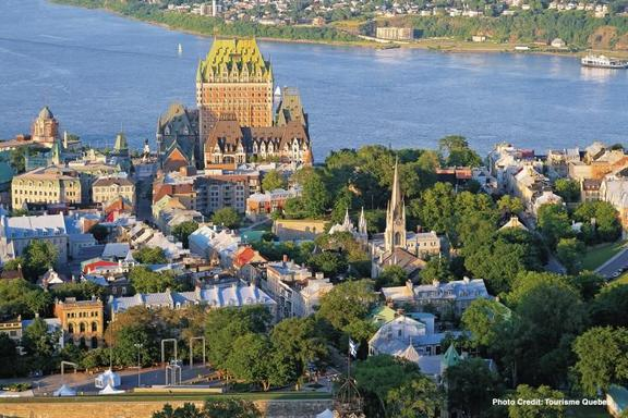 Quebec City and Montmorency Falls Day Trip