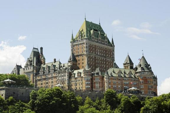 Quebec City and Montermorency Falls Day Trip W/ Montmorency Cruise