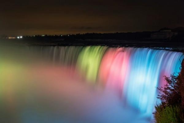 1-Day Niagara Falls Evening Tour - Canadian Side
