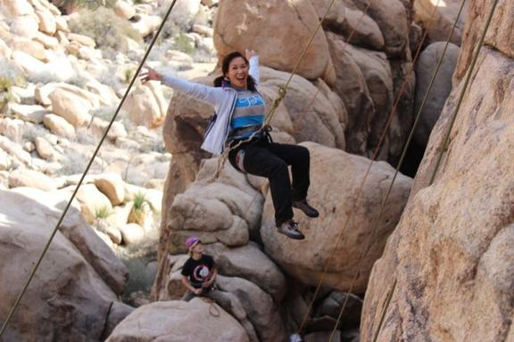 Big Bear Half-Day Rock Climbing Adventure
