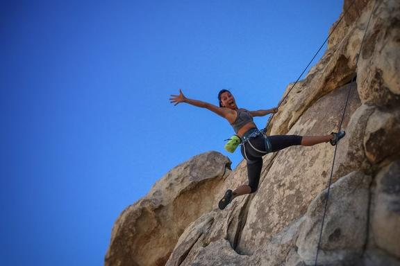 Apple Valley Full-Day Rock Climbing Adventure