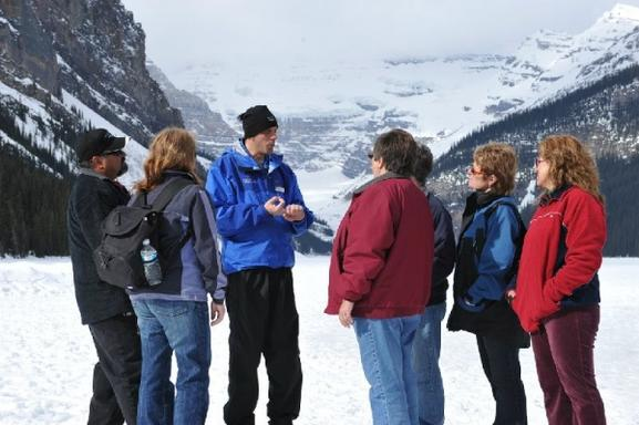 Lake Louise Winter Tour