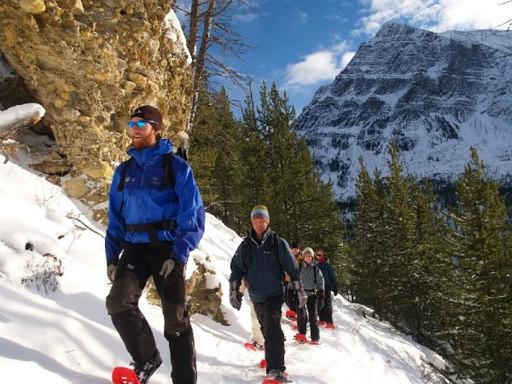 Marble Canyon Snowshoeing Tour