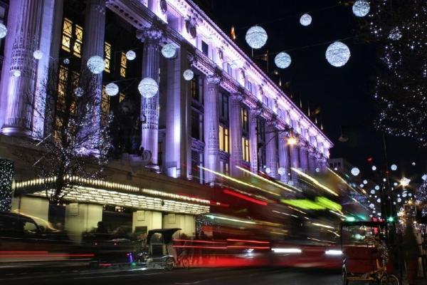 London Open Top Christmas Lights Tour