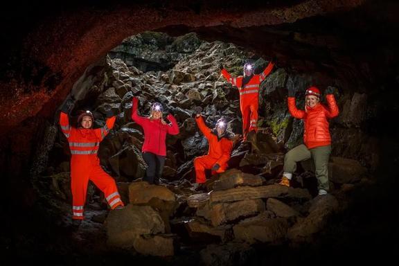Leidarendi Lava Tube Tour From Reykjavik