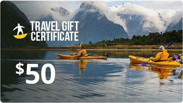 Tours4Fun Gift Certificate - $50