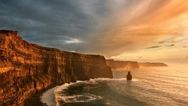 Cliffs of Moher, Atlantic Edge + Galway City Day Tour from Dublin