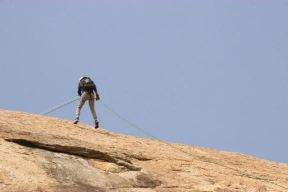 Apple Valley Rappelling Adventure