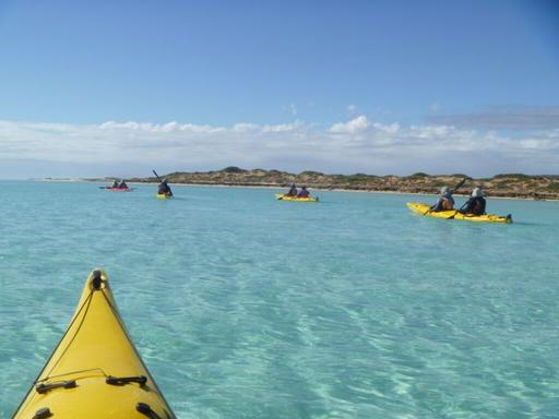 Ningaloo Reef Lagoon Kayaking & Snorkeling Tour