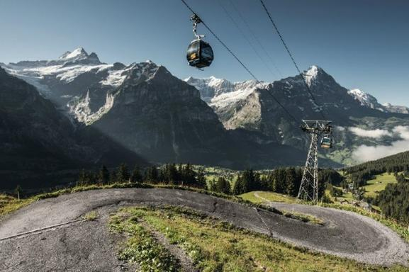 Grindelwald-First Adventure Tour from Zurich: Cliff Walk - Zip Line - Mountain Cart