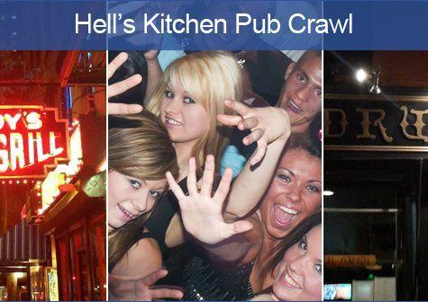 NYC Hell's Kitchen Pub Crawl