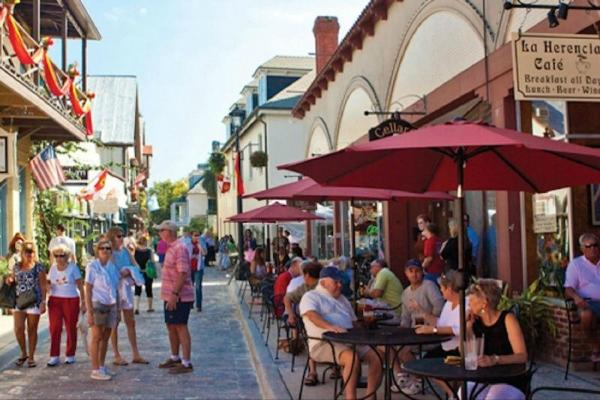 St Augustine Tour with Scenic Cruise