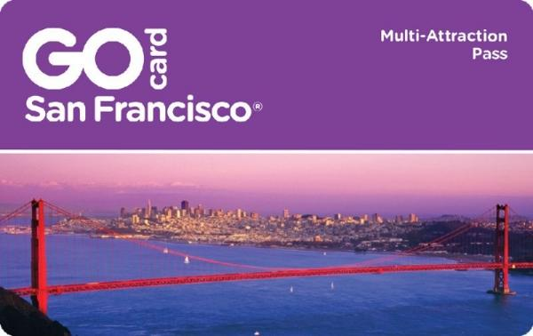 GO San Francisco Card (25+ Attractions for one LOW Price!!)