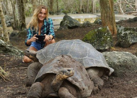 4-Day Galapagos Vacation Package: Santa Cruz & Santa Fe Island