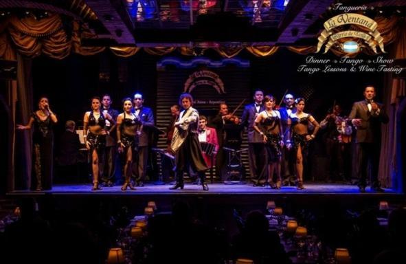 Tango Show at La Ventana W/ Dinner