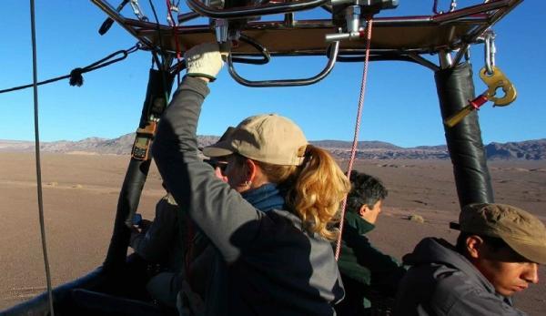 Atacama Desert Balloon Ride