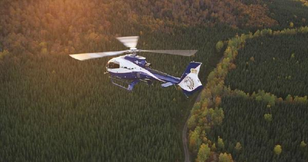 30-Min Quebec City, River, & Waterfall Helicopter Tour