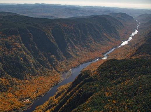 Jacques-Cartier National Park Tour & Helicopter Flight from Quebec