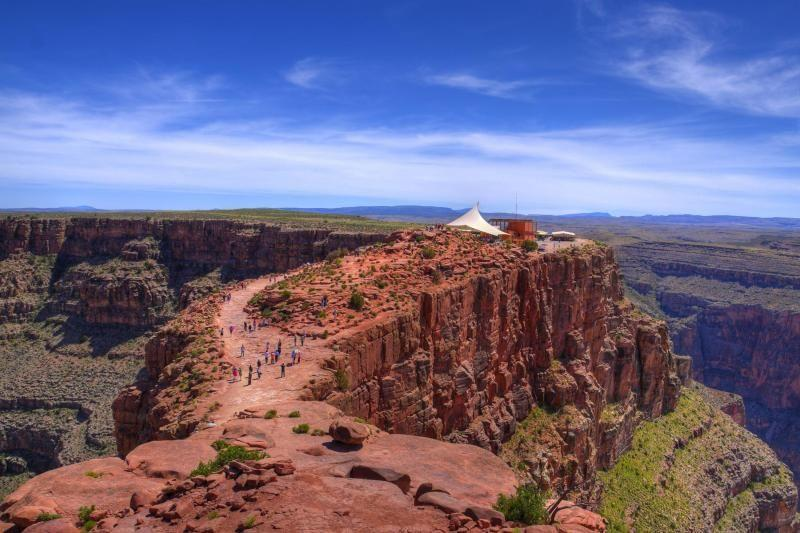 Grand Canyon West Rim Tour by Luxury Limo Van w/ Skywalk Tickets