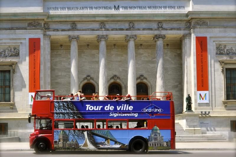 48-Hour Montreal Hop-On Hop-Off Sightseeing Tour (Red Loop)