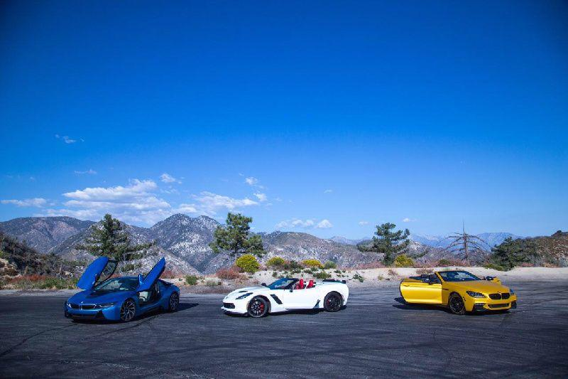 Angeles National Forest Exotic Car Tour