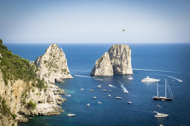 Capri and Blue Grotto Day Trip From Rome