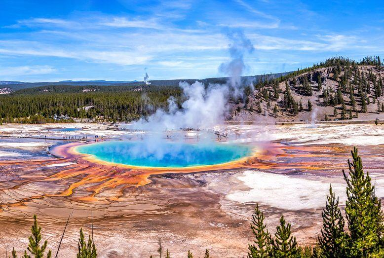 8-Day San Fransico, Las Vegas, Yosemite, Grand Teton, Grand Canyon and In-Depth Yellowstone Tour Package