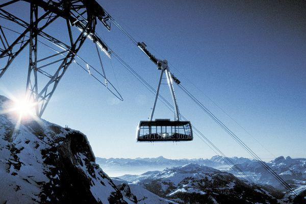 Glacier 3000 Day Trip From Geneva w/ Montreux**Cable Car Fare Included**