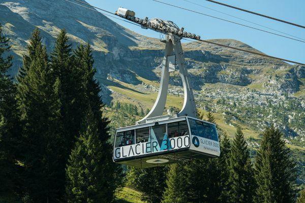 Glacier 3000 Day Trip from Montreux**Cable Car Fare Included**