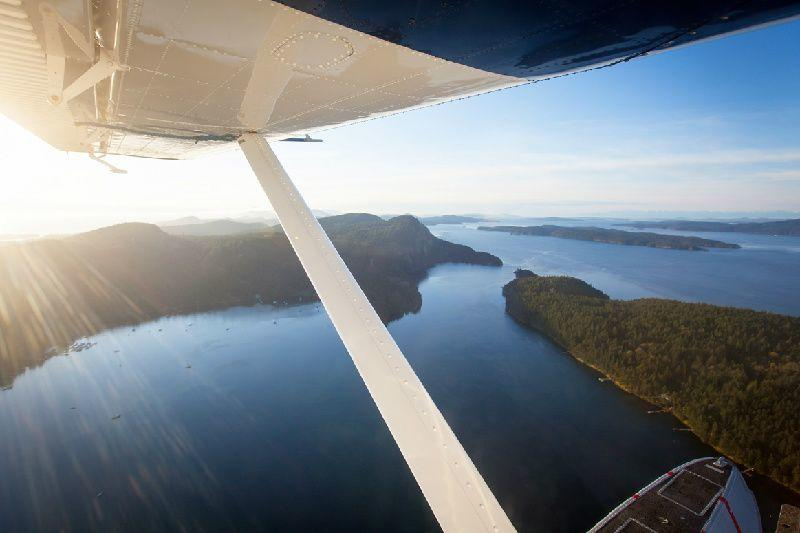 The Mail Run Airplane Tour in Vancouver