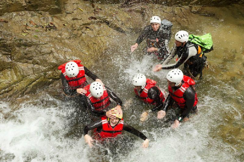 Private Cuenca Canyoning at Cabogana