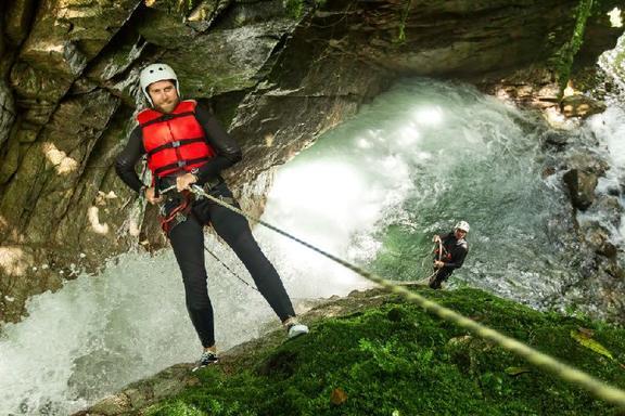 Private Cuenca Canyoning at Cabogana