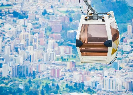 Private Quito City Tour W/ Equator Monument & Teleferico Cable Car
