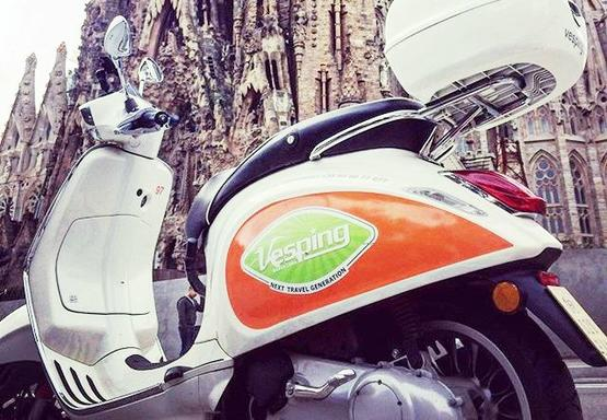 6-Hour Barcelona Vespa Rental with GPS Navigation