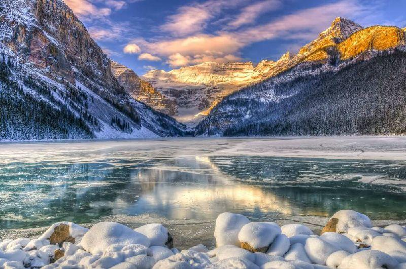 4-Day Thrilling Canadian Rockies Winter Tour