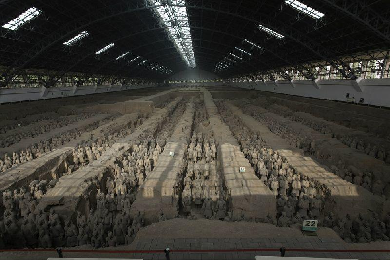 Xi'an Highlights Private Tour: Banpo Museum, Terracotta Warriors Museum & Qin Shi Huang Mausoleum