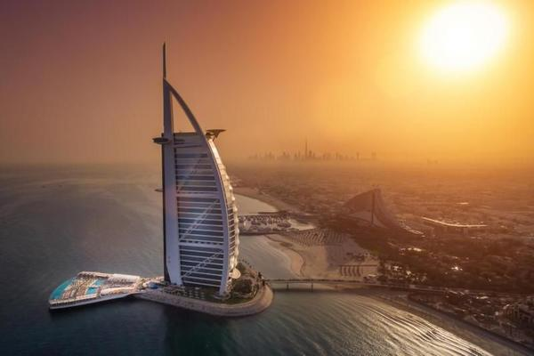 Dining at Al Iwan Restaurant Burj Al Arab W/ Transfers